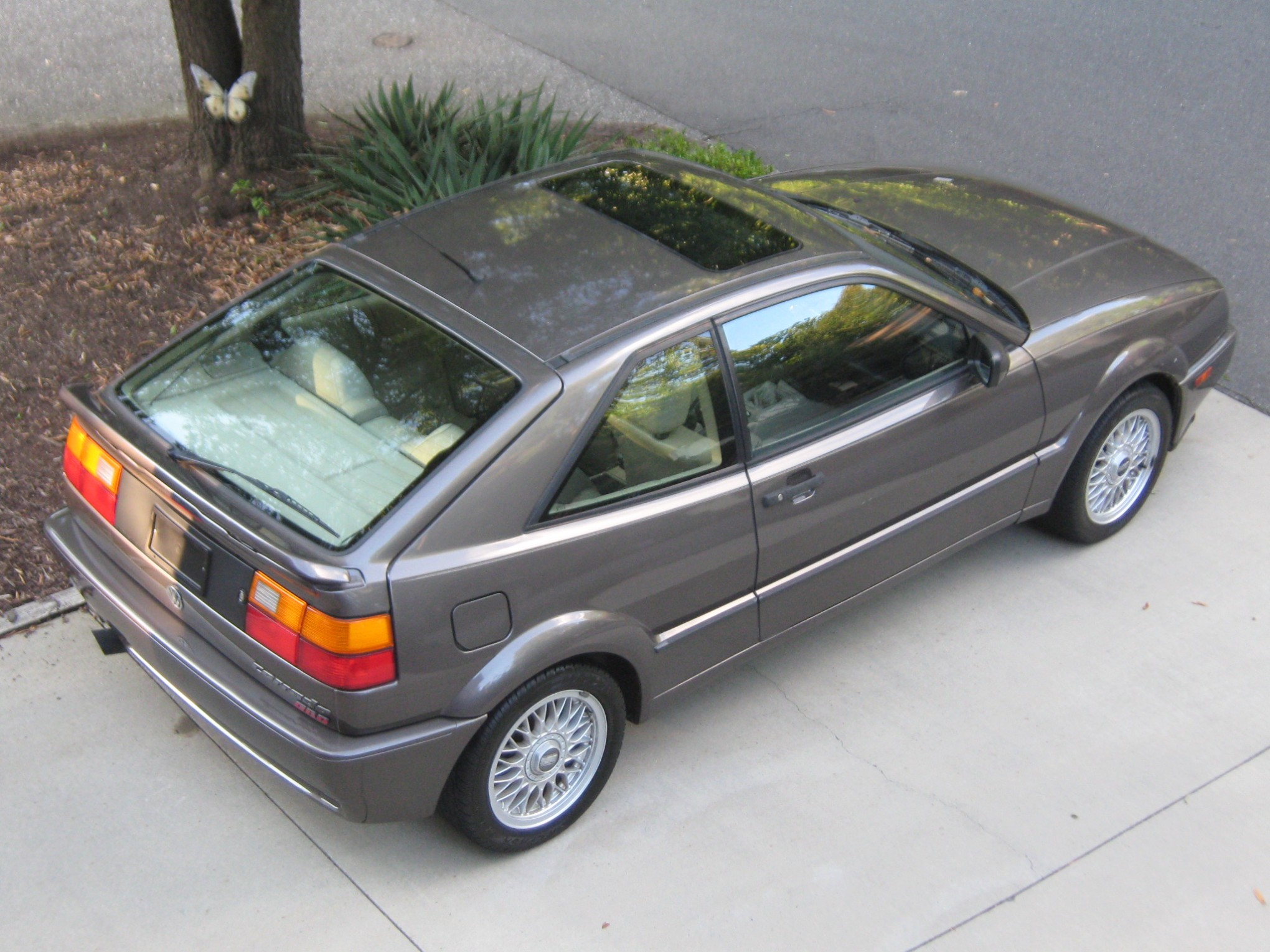 1991 VW Corrado G60 Toffee Gray metallic