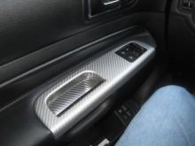 MK4 VW GTi Neffy Wrap Silver Carbon fiber Interior Door Handle
