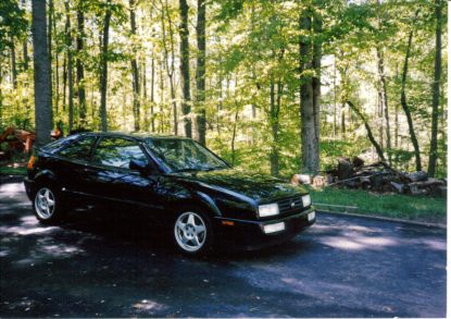 My 1993 Black Corrado SLC - with ABT badges