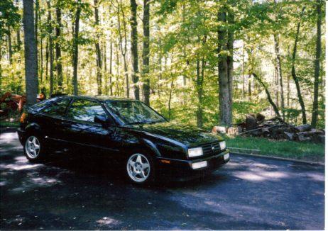 My 1993 Black Corrado SLC - with ABT badges