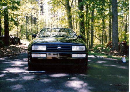 My Black 1993 VW Corrado SLC with Tan interior