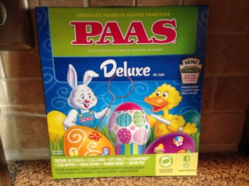 PAAS Kit for Dyeing Eggs