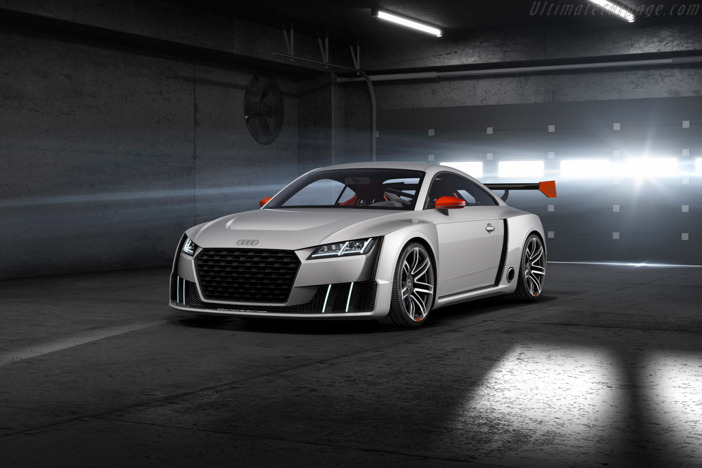 New Audi TT Clubsport Electric Turbo