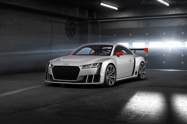 New Audi TT Clubsport Electric Turbo