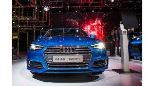 2017 Audi A4 Quattro Exterior in Blue