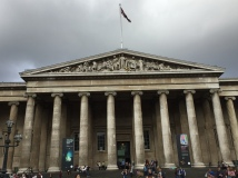 British Museum and the Union Jack