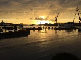 Gothenburg, Sweden harbor