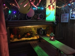 Moon Tai Kitchen - fish tank booth