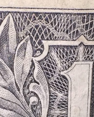 iPhone 6 zoom, Can you see the Owl on the $1 U.S. Dollar??
