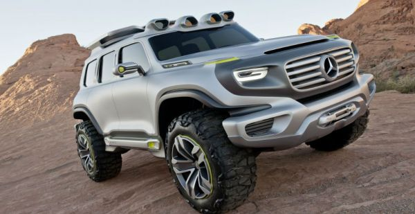 Mercedes-Benz New SUV could be a Mars Rover
