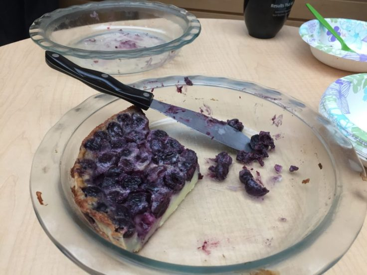 An Easy to make Whole Cherry Pie - Clafoutis Recipe