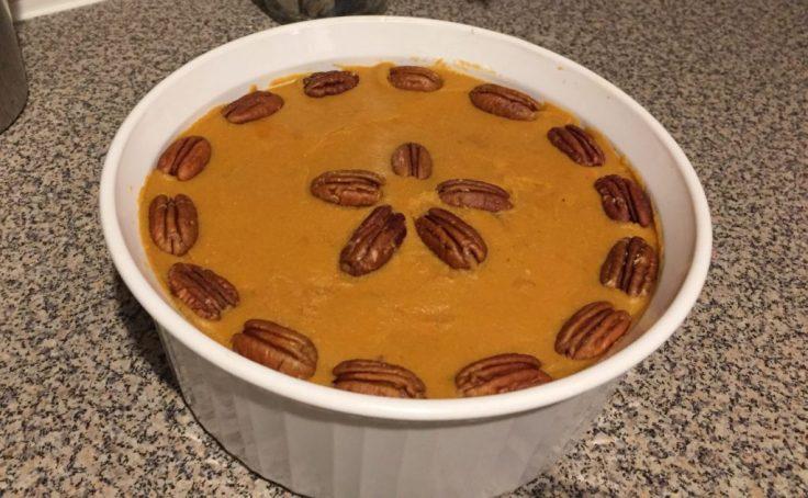 Thanksgiving sweet potato casserole recipe