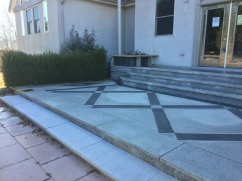 Front Steps All stone