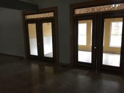 DOUBLE DOORS TO SUN ROOM