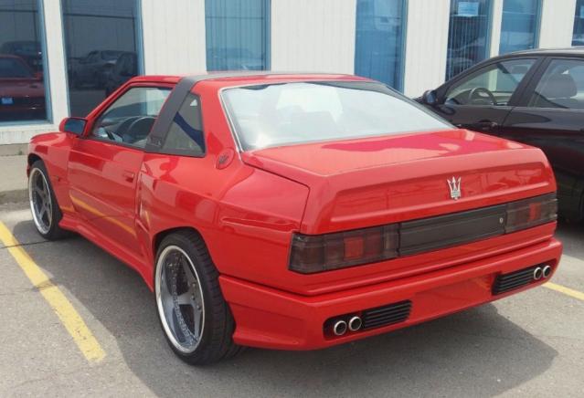 Red Maserati Shamal