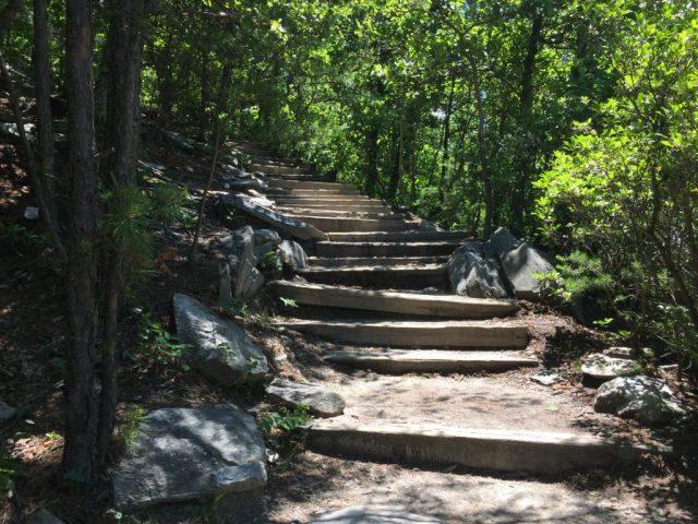 Hanging Rock NC Stairs