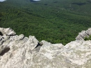 Hanging Rock State Park North Carolina Amazing View from Hanging Rock edge