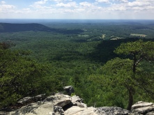 Hanging Rock State Park North Carolina Amazing View from Hanging Rock Looking South