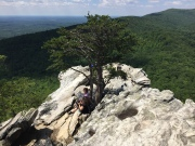 Hanging Rock State Park North Carolina Amazing View from Hanging Rock