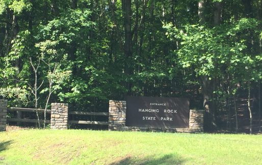 Hanging Rock State Park North Carolina Entrance