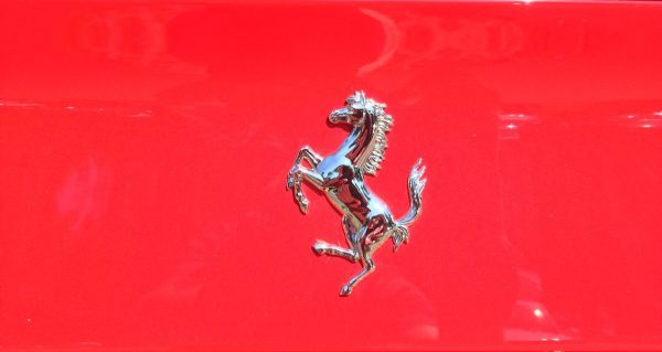 Ferrari 488 prancing horse