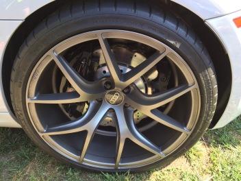 Audi R8 V10 Graphite Wheels