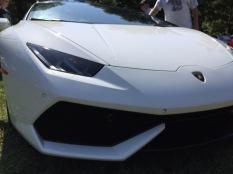 Lamborghini Huracan front intake