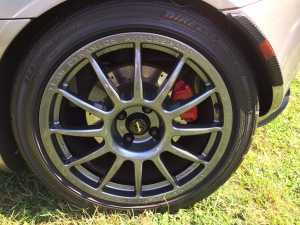 Lotus Elise aftermarket wheel