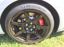 Mustang GT350 R carbon fiber wheels