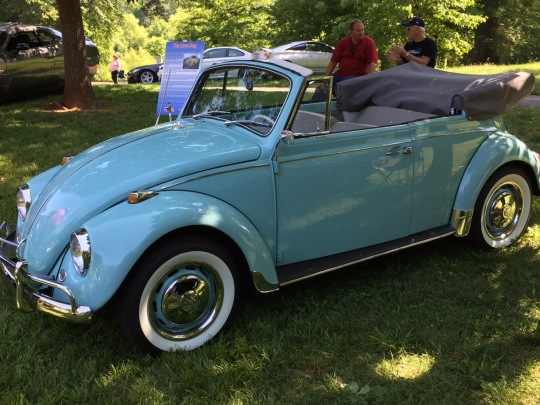 Perfectly Restored VW Convertable Bug
