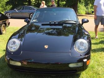 Black Porsche 911 - a classic