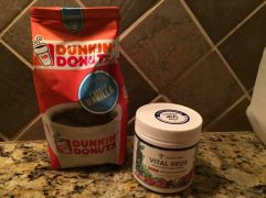 Gundry MD Vital Reds Dunkin Donuts Coffee