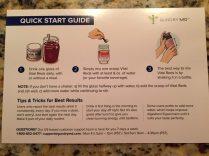 Gundry MD Vital Reds Quck Start Guide