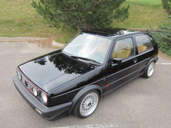 1992 Volkswagen GTi 16v Black
