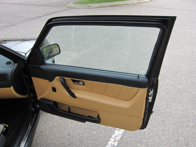 MK2 GTi Black Custom leather door panel