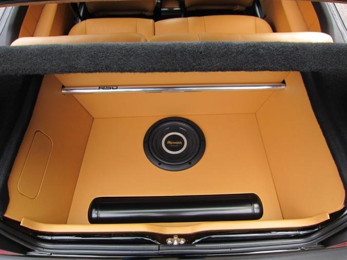 MK2 GTi Black Custom leather trunk false floor