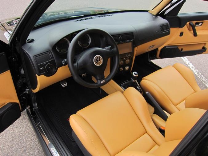 MK2 GTi Black MK4 Dash installed