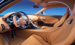 Bugatti Chiron tan interior