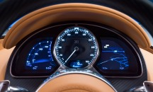 Bugatti Chiron dash cluster
