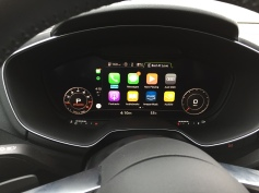2017 Audi TT Apple Carplay