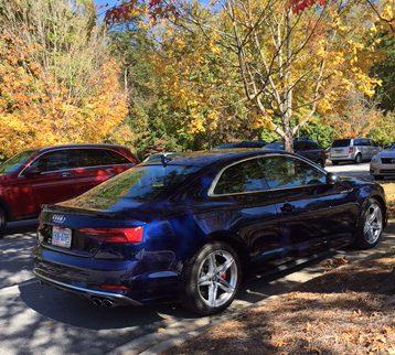 2017 Audi S3 Blue