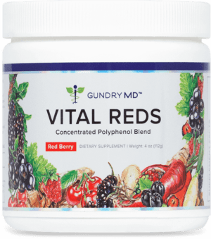 This revolutionary formula combines the power of 34 polyphenol-rich superfruits with natural fat-burning ingredients and probiotics. Vital Reds helps your body maintain higher energy levels, better digestion, and healthier-looking skin.